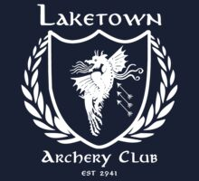 Laketown Archery Club (White) Kids Tee
