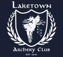 Laketown Archery Club (White) One Piece - Long Sleeve