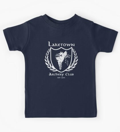 Laketown Archery Club (White) Kids Tee