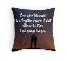 EoS: Dust Between the Stars Throw Pillow
