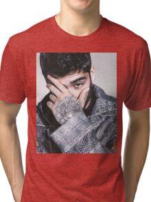 ZAYN MALIK -HIGHS NOBIETY ICON Tri-blend T-Shirt