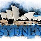 Sydney Opera Watercolor Art by ilmagatPSCS2
