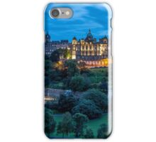 Edinburgh City Center from the roof iPhone Case/Skin