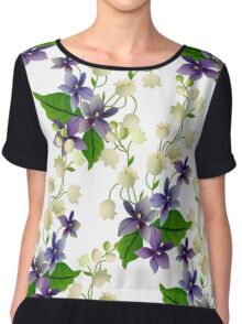 Lily of the Valley Chiffon Top