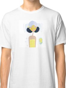 Spa girl with face mask : Yellow Edition Classic T-Shirt