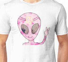 Peace Alien Hippie Unisex T-Shirt