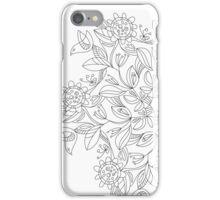 Birds in a Flowering Bush iPhone Case/Skin