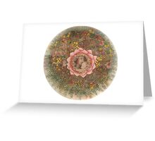 1.Fertility mandala for childbirth and the harmony of the family Greeting Card
