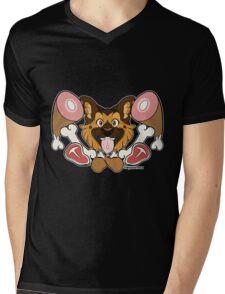 Dog Meat - Shep Mens V-Neck T-Shirt