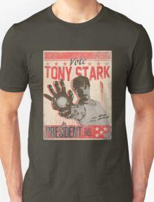 President Stark Unisex T-Shirt