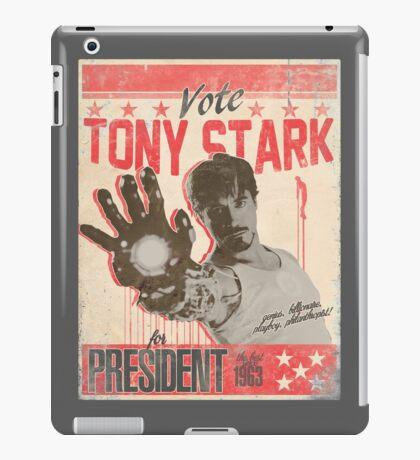 President Stark iPad Case/Skin