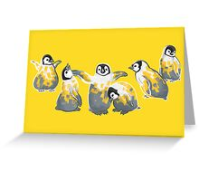 Party Penguins Greeting Card