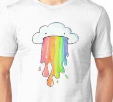 Puking rainbow cloud Unisex T-Shirt