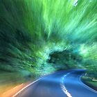 Abstract Driving Home.........Dorset UK by lynn carter