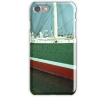 Hamburg Landungsbrücken -Tiltshift (3) iPhone Case/Skin