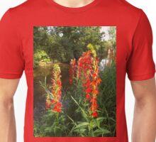 Cardinal Flowers Unisex T-Shirt