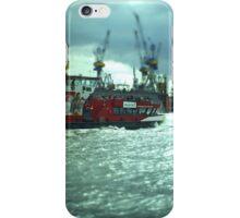 Hamburg Landungsbrücken -Tiltshift (4) iPhone Case/Skin