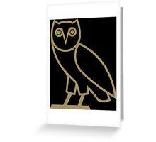 Owl Drake Greeting Card