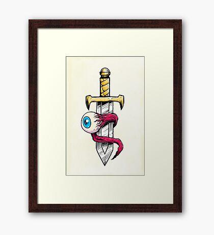 Magic Dagger Framed Print