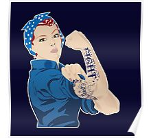 Rosie the Riveter - FIGHT Poster