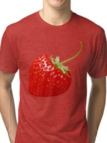 Delicious Strawberry  Tri-blend T-Shirt