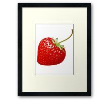 Delicious Strawberry  Framed Print