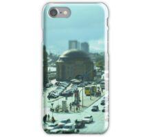 Hamburg Landungsbrücken -Tiltshift (6) iPhone Case/Skin