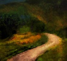 Autumn Road by RC deWinter