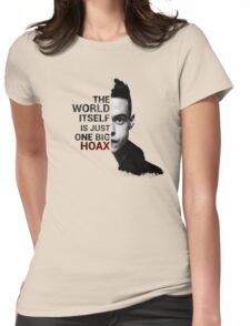 Mr. Robot - Elliot's Quote Womens Fitted T-Shirt