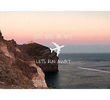 Never Be 5sos lyrics Photographic Print