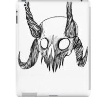 Hell crown iPad Case/Skin