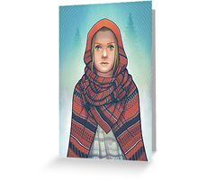 Not so Red Riding Hood Greeting Card