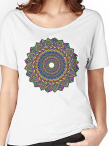 Crazy Color Wheel Women's Relaxed Fit T-Shirt
