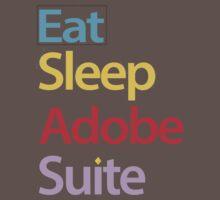 Eat Sleep Adobe Suite 2.0 Kids Clothes