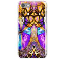 BICYCLES ABSTRACT ART; Whimsical Painting Print iPhone Case/Skin
