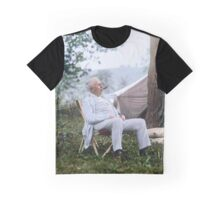 "Thomas Edison Relaxing on a ""Vagabonds"" Camping Trip, 1921 Graphic T-Shirt"