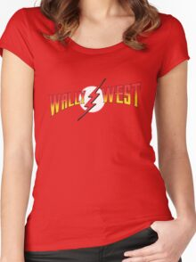 Wally West Women's Fitted Scoop T-Shirt