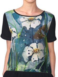 Flower Garden Chiffon Top