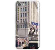 Patton during a welcome home parade in Los Angeles, June 9, 1945 iPhone Case/Skin