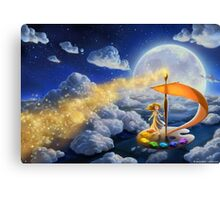 Flying Colors Canvas Print