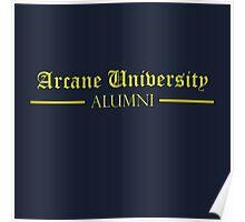 Arcane University Alumni Poster