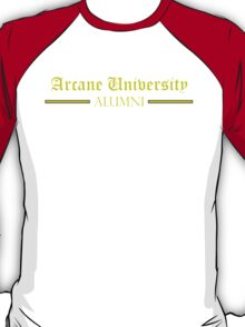 Arcane University Alumni T-Shirt