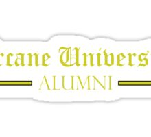 Arcane University Alumni Sticker
