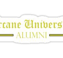 Arcane University Alumni Sticker