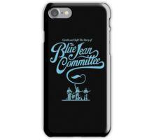 blue jean committee iPhone Case/Skin