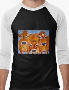 Jersey Girls Men's Baseball ¾ T-Shirt