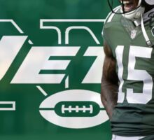 Brandon Marshall NY Jets Sticker