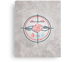 Religious contemporary minimal symbol Canvas Print