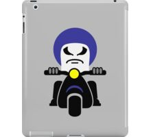 Bad Dude on a Scooter iPad Case/Skin