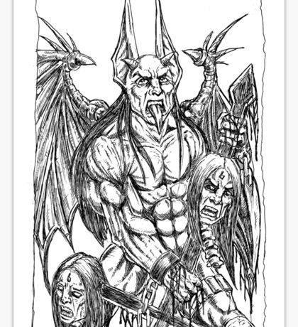 Rage of an Angel  Sticker
